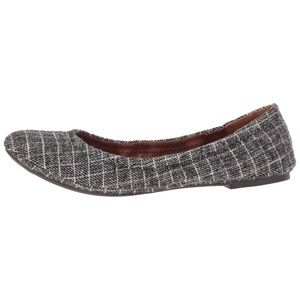 Lucky Brand Emmie Plaid Ballet Flats Shoes 6.5